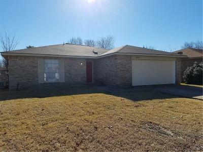 Mesquite Single Family Home For Sale: 1530 Roundrock Trail