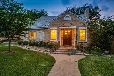 Dallas County Single Family Home For Sale: 6819 Santa Fe Avenue