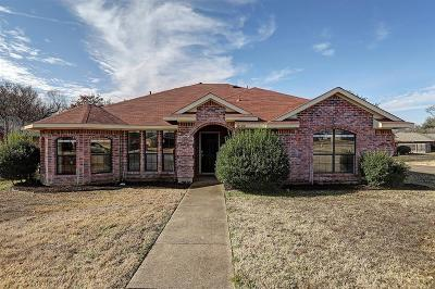 Sachse Single Family Home Active Contingent: 6100 Coral Lane