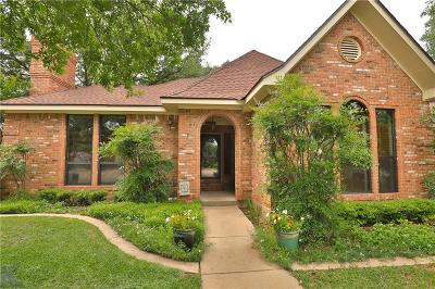 Abilene Single Family Home For Sale: 7 Lamar Circle