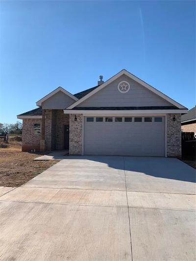 Abilene Single Family Home For Sale: 7658 Florence Drive