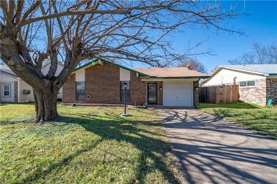 Grand Prairie Single Family Home Active Option Contract: 2307 Avenue C