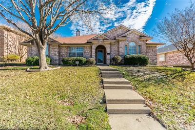Allen Single Family Home Active Option Contract: 815 Cornell Lane