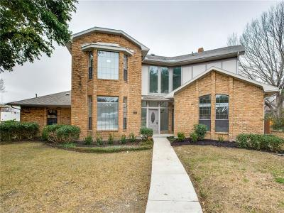 Collin County, Dallas County, Denton County Single Family Home For Sale: 1608 Millview Place