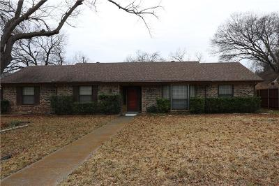 Farmers Branch Single Family Home For Sale: 2717 Selma Lane