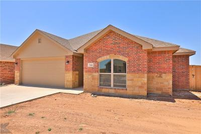 Abilene Single Family Home For Sale: 7414 Morning Glory