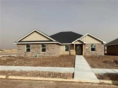 Abilene Single Family Home For Sale: 7407 Security Lane