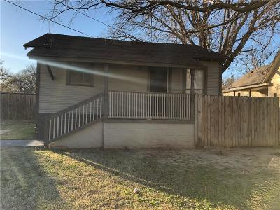 Denton Single Family Home For Sale: 306 S Crawford Street