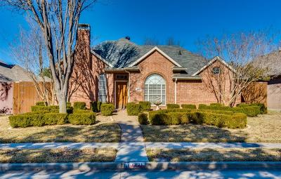 Plano Single Family Home Active Option Contract: 4821 Holly Berry Drive