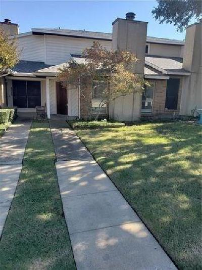 Mesquite Townhouse For Sale: 4911 Regal Bluff