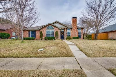 Coppell Single Family Home Active Option Contract: 105 Cherrybark Drive
