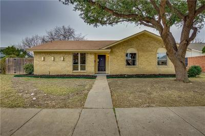 Dallas County, Denton County Single Family Home For Sale: 2123 Sheraton Drive