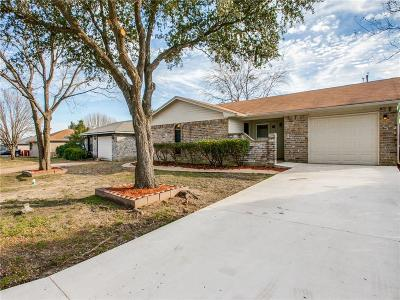 Royse City Single Family Home Active Option Contract: 921 Loganwood Drive