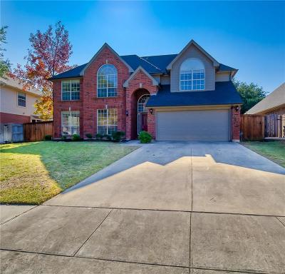 Grapevine Single Family Home For Sale: 1923 Fair Field Drive