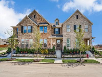 McKinney Townhouse For Sale: 4917 Barcelona Avenue
