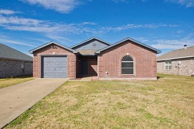Mesquite Single Family Home Active Option Contract: 215 Woodhill