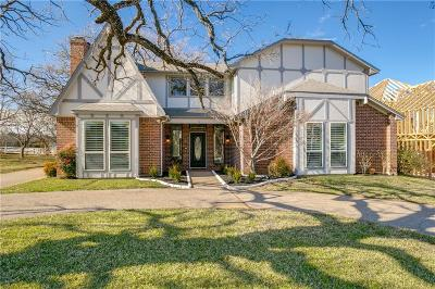 Southlake Single Family Home Active Option Contract: 1519 Flamingo Circle