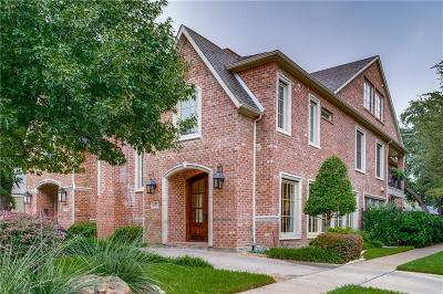 Dallas County Single Family Home For Sale: 4200 Lovers Lane