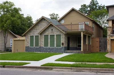 Dallas Single Family Home For Sale: 5027 Alcott Street