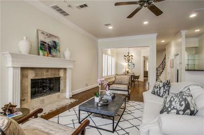 Highland Park, University Park Half Duplex For Sale: 3439 Normandy Avenue