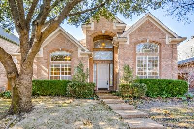 Addison Single Family Home Active Option Contract: 14625 Vintage Lane