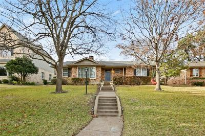 Dallas, Fort Worth Single Family Home For Sale: 9411 Buxhill Drive