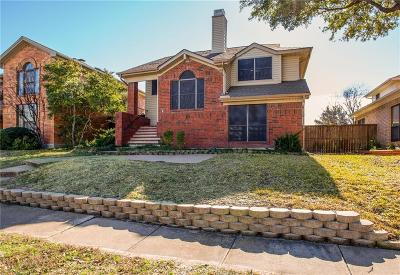 Dallas County, Denton County Single Family Home Active Option Contract: 1602 Kingspoint Drive