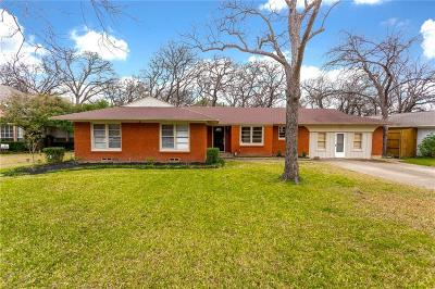 Arlington Single Family Home Active Option Contract: 836 Ross Trail