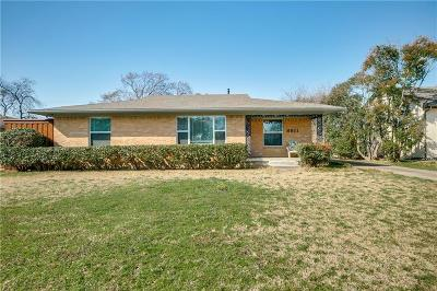Dallas Single Family Home For Sale: 8811 Lockhaven Drive