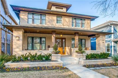 Dallas Single Family Home For Sale: 5427 Miller Avenue