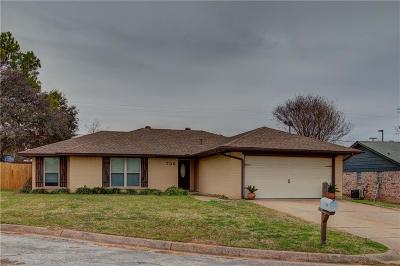 Mansfield TX Single Family Home For Sale: $220,000