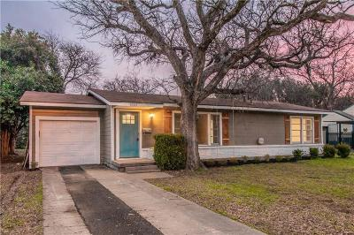 Richland Hills Single Family Home For Sale: 6509 Reeves Street