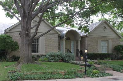 Dallas County Single Family Home For Sale: 12504 Matisse Lane