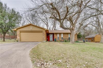 Waxahachie Single Family Home Active Option Contract: 306 Lakewood Drive
