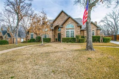 Keller Single Family Home Active Option Contract: 813 Runnymede Road
