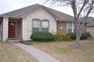 Allen Single Family Home Active Option Contract: 1315 Lamar Lane