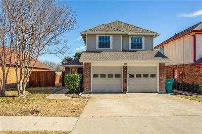 Lewisville Single Family Home Active Option Contract: 931 Ramblewood
