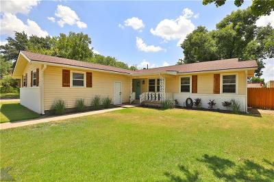 Abilene Single Family Home For Sale: 2301 College Street