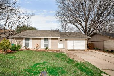 Lewisville Single Family Home Active Option Contract: 1213 Monaco Drive