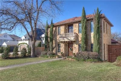 Fort Worth Single Family Home For Sale: 3818 W 6th Street