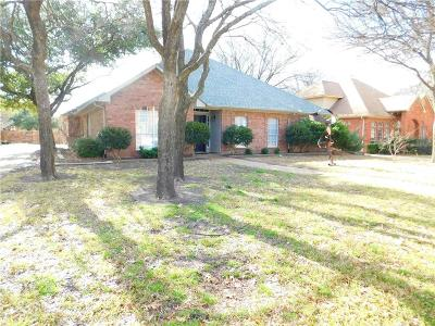Denton Single Family Home For Sale: 1104 Abbots Lane