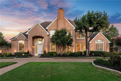 Colleyville Single Family Home Active Option Contract: 5805 Highland Hills Lane