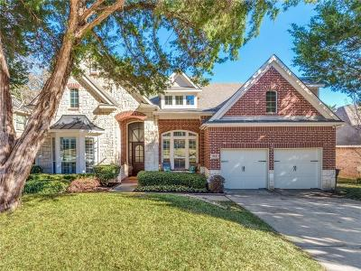 Grapevine Single Family Home Active Option Contract: 912 Fall Creek