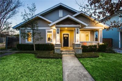 Dallas Single Family Home For Sale: 5322 Miller Avenue