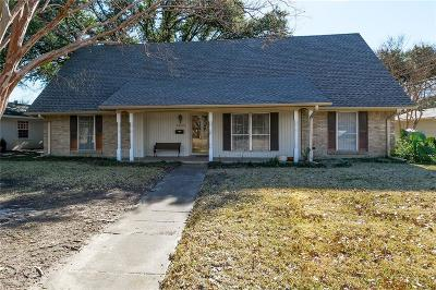 Richardson Single Family Home Active Option Contract: 1333 Apache Drive