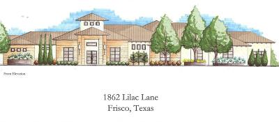 Frisco Single Family Home For Sale: 1862 Lilac Lane
