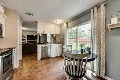 Lewisville Single Family Home Active Option Contract: 617 Dewberry Drive