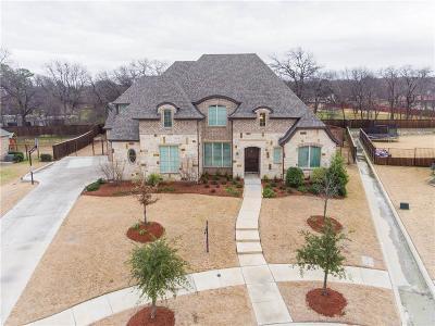 Keller TX Single Family Home For Sale: $819,900