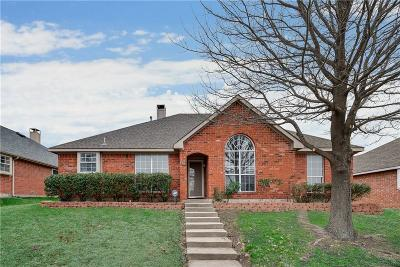 Lewisville Single Family Home Active Option Contract: 536 Valley View Drive