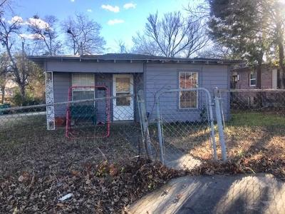 Lewisville Single Family Home Active Option Contract: 358 Birch Street